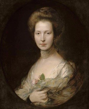 Thomas Gainsborough - Portrait of a lady, identified as Lady Louisa Clarges