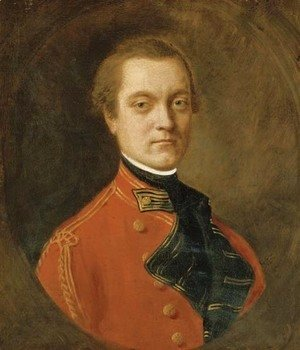 Portrait of an officer of the 1st Dragoon Guards