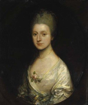 Thomas Gainsborough - Portrait of Elizabeth Blacker (1739-1822)