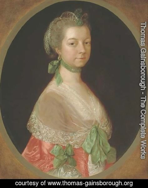 Thomas Gainsborough - Portrait of Elizabeth Uvedale