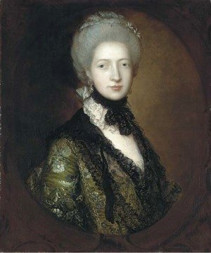 Thomas Gainsborough - Portrait of Lady Willielma Glenorchy