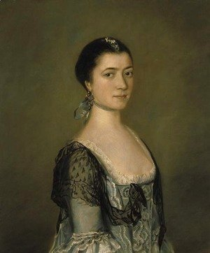 Portrait of Miss Elizabeth Edgar (1733-1791)