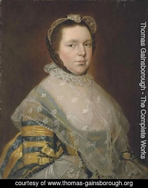 Thomas Gainsborough - Portrait of Mrs Thomas Prowse