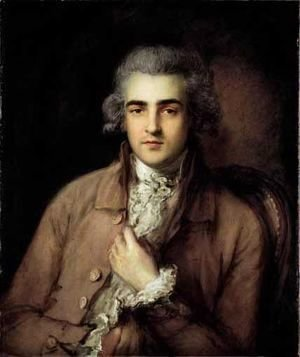 Thomas Gainsborough - Portrait Of Richard Tickell (1751-1793)