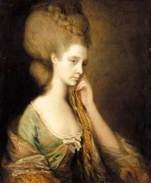 Thomas Gainsborough - Portrait Of Anne Thistlethwaite, Countess Of Chesterfield (1759-1798)