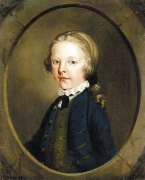 Thomas Gainsborough - Portrait Of A Young Boy
