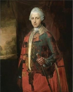 Thomas Gainsborough - Portrait Of A Nobleman
