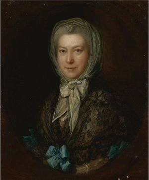 Thomas Gainsborough - Portrait Of Miss Low