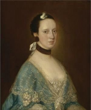 Thomas Gainsborough - Portrait Of Mrs. John Gisborne (Nee Anne Bateman)