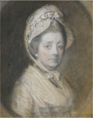 Thomas Gainsborough - Portrait Of Mrs Thomas Gainsborough, Nee Margaret Burr (1728-1797)