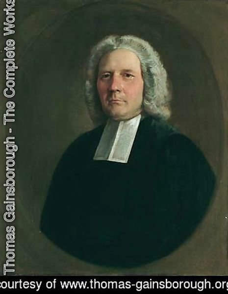Thomas Gainsborough - Portrait Of The Rev. Robert Hingeston (1699-1776)