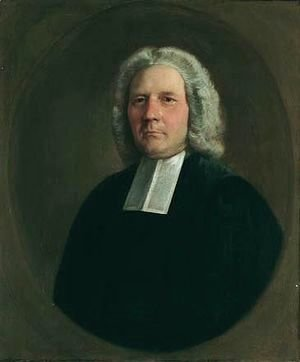 Portrait Of The Rev. Robert Hingeston (1699-1776)