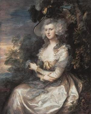 Thomas Gainsborough - Mrs. Thomas Hibbert