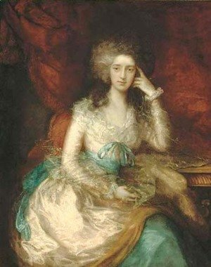 Thomas Gainsborough Portrait-Of-The-Hon.-Mrs-Watson-1767-1818,-Later-Lady-Sondes