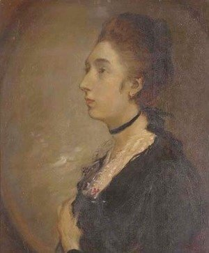 Thomas Gainsborough - Portrait of Margaret Gainsborough (1752-1820)