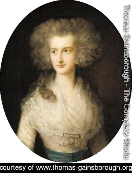 Portrait Of Elizabeth Bowes, Mrs Croft