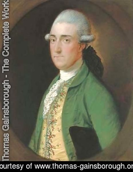 Thomas Gainsborough - Portrait of Walwyn Graves (1745-1813), of Mickleton Manor, Gloucestershire