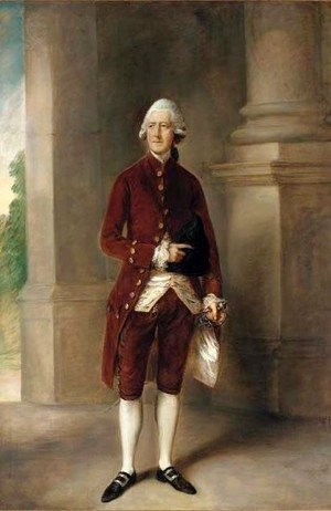 Thomas Gainsborough - Portrait of Sir Charles Gould