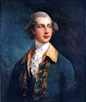 Thomas Gainsborough - George IV as Prince of Wales