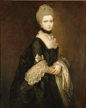 Thomas Gainsborough - Portrait of Maria Walpole, Countess of Waldegrave, later Duchess of Gloucester