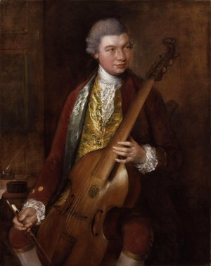 Thomas Gainsborough - Carl Friedrich Abel 2