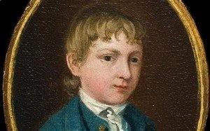 The miniature portrait of a young boy (supposed self-portrait)