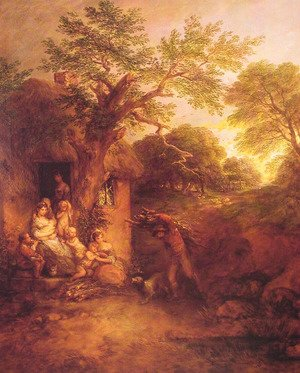 Thomas Gainsborough - The Woodcutter's House