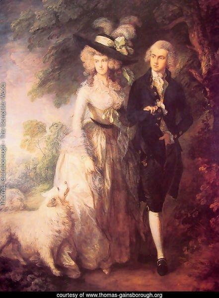 Mr and Mrs William Hallett ('The Morning Walk')  1785