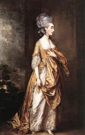 Thomas Gainsborough - Mrs Grace Dalrymple Elliot c. 1778