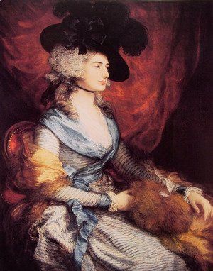 Thomas Gainsborough - Mrs Sarah Siddons 1785