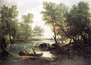 Thomas Gainsborough - River Landscape 1768-70