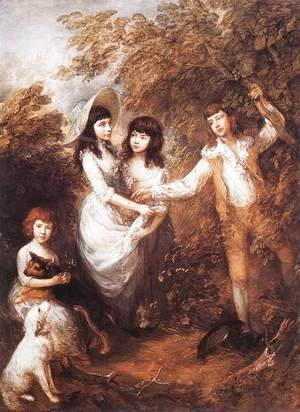 Thomas Gainsborough - The Marsham Children 1787