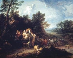 The Harvest Wagon 1767