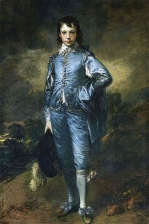 Thomas Gainsborough - Portrait of Jonathan Buttall (The Blue Boy) 1770