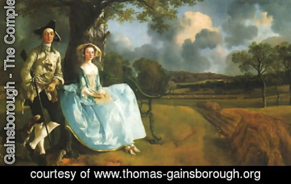 Thomas Gainsborough - Robert Andrews and his Wife, Frances