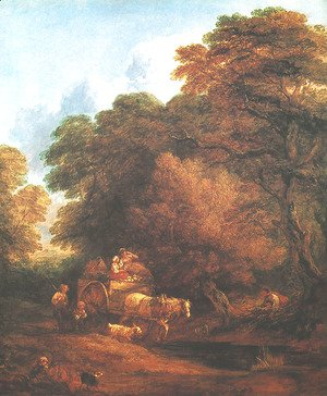 Thomas Gainsborough - Market Cart
